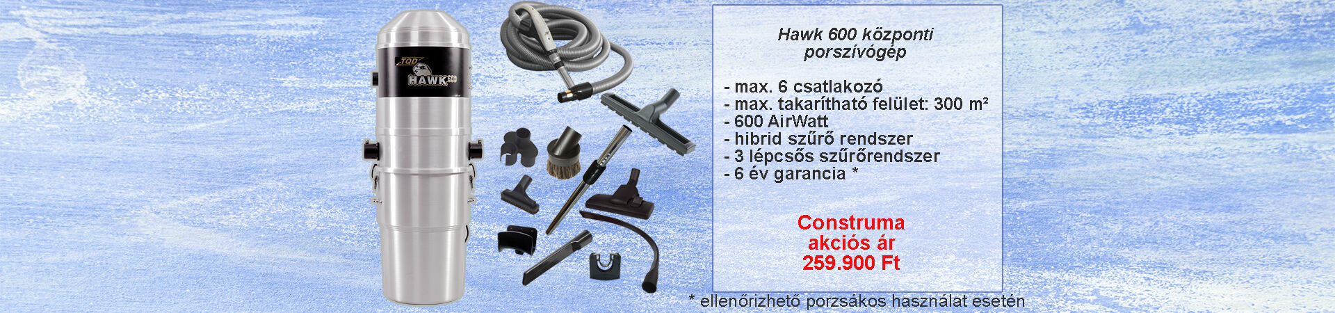 TQD HAWK 600 Construma