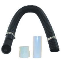Flexibilis bekötőszett szemétlapát adapterhez és porszívó csőrendszerhez (kb. 1 m-es)