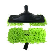 Padlópolírozó mikroszálas zöld takarítófej