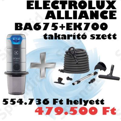 ELECTROLUX  Alliance BA675LCD SZETT