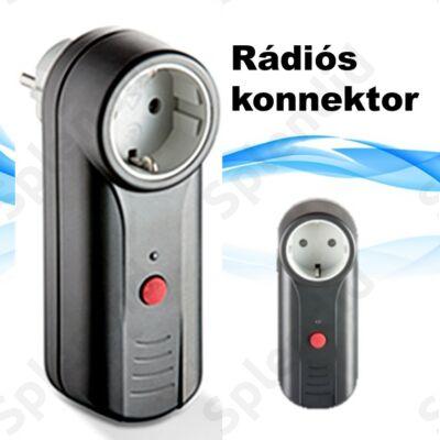 Rádiós konnektor REHAU porszívógépekhez