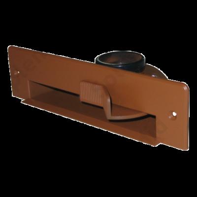 Szemétlapát adapter bútorba építhető központi porszívóhoz Világosbarna