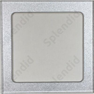 Prémium csatlakozóhoz keret ezüst