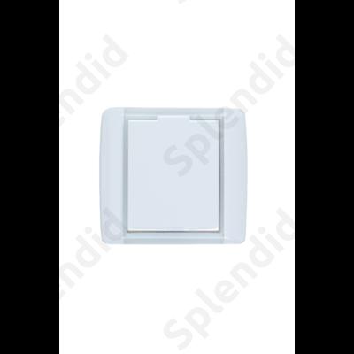 EMESE falicsatlakozó Fehér, kicsi kerekített forma