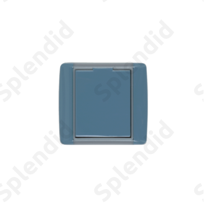 EMESE falicsatlakozó Kék, kicsi kerekített forma