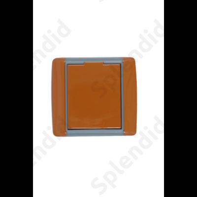 EMESE falicsatlakozó Karamell, kicsi kerekített forma