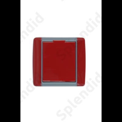 EMESE falicsatlakozó Piros, kicsi kerekített forma