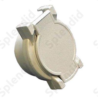 Szervizcsatlakozó elektromos csőbe építhető (fehér)