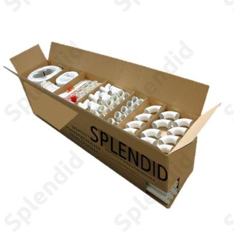4 csatlakozós központi porszívó szerelő csomag