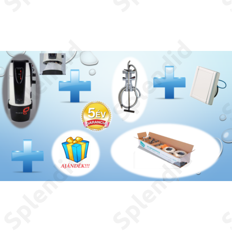 TECNO Style BAG 250  (PORZSÁKOS)  PACK 5 csatlakozós alap takarító készlettel