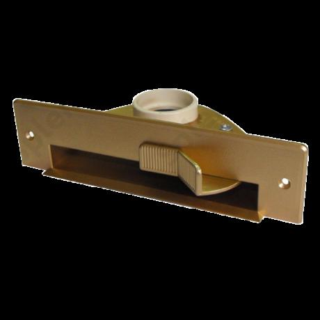 Szemétlapát adapter bútorba építhető központi porszívóhoz Arany