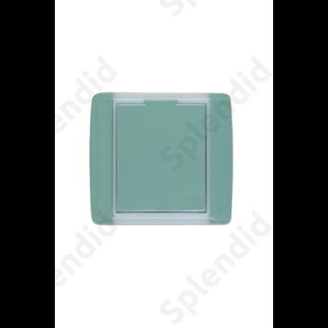 EMESE falicsatlakozó Zöld, kicsi kerekített forma