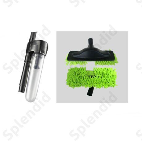 Bronz takarító csomag: gyűrűcsapda, padlópolírozó takarítófej