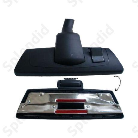 Állítható széles kerekes takarítófej fekete, 26,5 cm széles