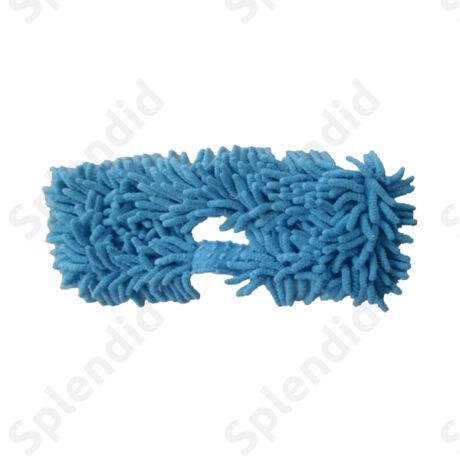 Cserélhető padlópolírozó kék mikroszálas takarító cserefej