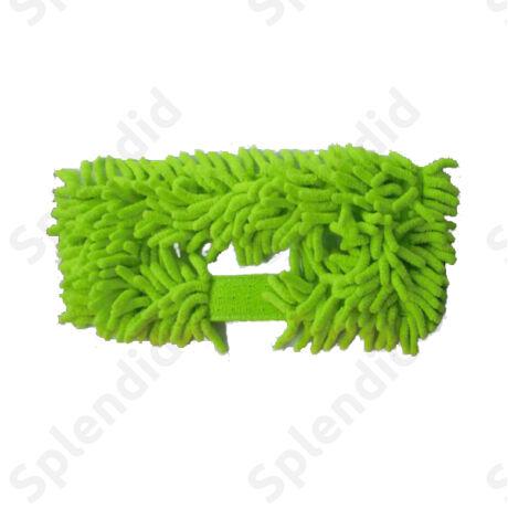 Cserélhető padlópolírozó zöld mikroszálas takarító cserefej
